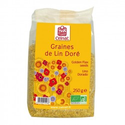 Photo Graines de lin doré 250g bio Celnat