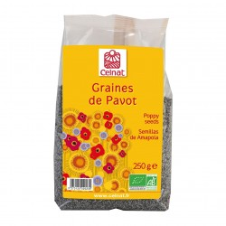 Photo Graines de pavot 250g bio Celnat
