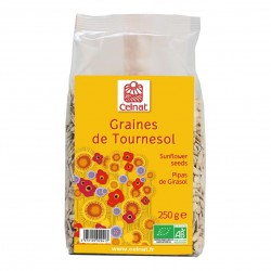 Photo Graines de tournesol 250g bio Celnat