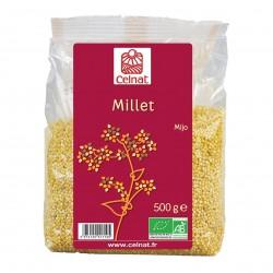 Photo Millet doré decortiqué 500g bio Celnat