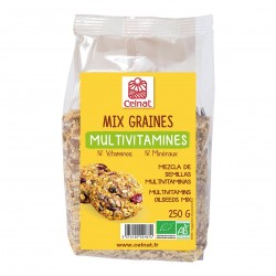 Photo Mix graines Multivitamines 250g bio Celnat