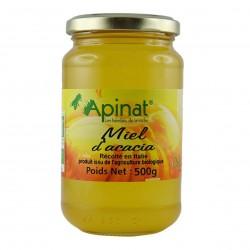 Photo Miel d'acacia origine Italie 500g bio Apinat