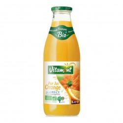 Photo Pur jus d'orange de Grèce 1l bio Vitamont