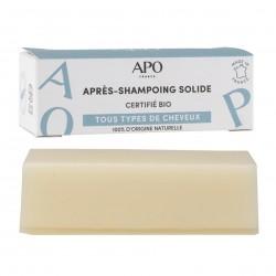 Photo Après-shampoing solide 50g bio APO