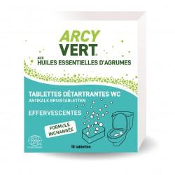 Photo Tablettes WC détartrantes x10 Arcy Vert