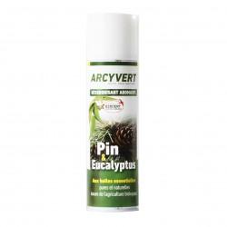 Photo Désodorisant pin-eucalyptus 200ml Arcy Vert