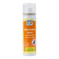 Photo Spray répulsif mites textile 200ml Aries