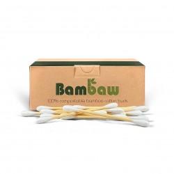 Photo Cotons-tiges en bambou x200 Bambaw