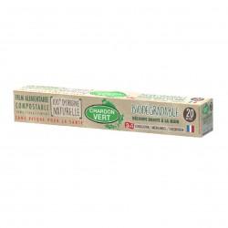 Photo Film alimentaire étirable biodégradable Chardon Vert