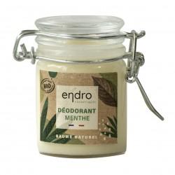 Photo Déodorant solide menthe 60ml bio Endro