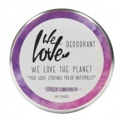 Photo Déodorant crème lovely lavender 48g bio We Love The Planet
