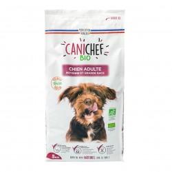 Photo Croquettes chien grande race 5kg bio Canichef