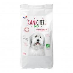 Photo Croquettes chien sénior 2kg bio Canichef