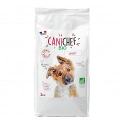 Photo Croquettes chiot 2kg bio Canichef