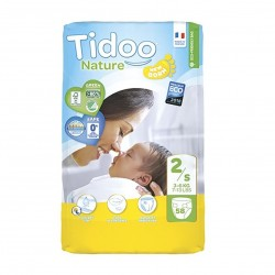 Photo Couches Tidoo Nature T2/S Newborn 3-6kg x58 Tidoo