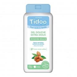 Photo Gel douche extra-doux à l'amande douce 750ml bio Tidoo