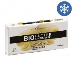 Photo Beurre doux sans lactose 100g bio Biedermann
