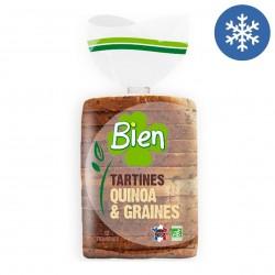 Photo Pain spécial tranché au quinoa et graines 450g bio Bien