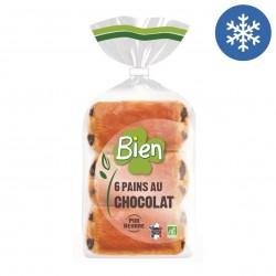 Photo Pains au chocolat x6 - 270g bio Bien