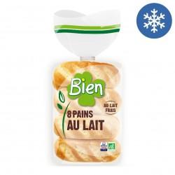 Photo Pains au lait x8 - 280g bio Bien