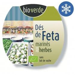 Photo Dés de féta aux herbes fraîches 125g bio Bio Verde