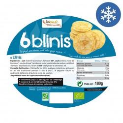 Photo Blinis 6x30g 180g bio Biobleud