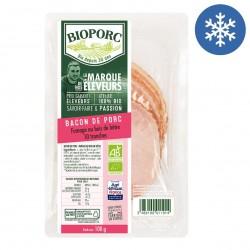 Photo Bacon x10 - 100g bio Bioporc