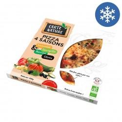 Photo Pizza 4 saisons 400g bio Carte Nature