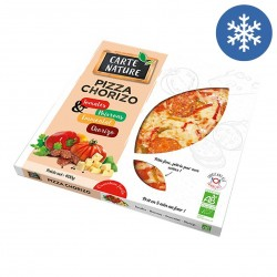 Photo Pizza chorizo 400g bio Carte Nature
