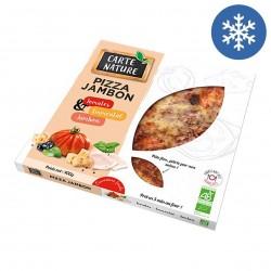 Photo Pizza jambon 400g bio Carte Nature