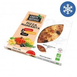 Photo Pizza margarita 400g bio Carte Nature