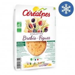 Photo Galette fromage de brebis & figues séchées 2x90g bio Céréalpes