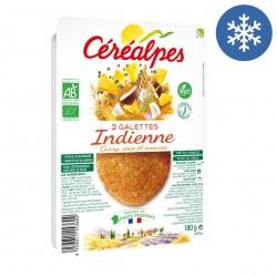 Photo Galette indienne 2x90g bio Céréalpes