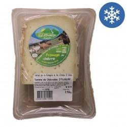 Photo Tomme de chèvre au lait cru 150g bio Fromagerie Val d'Ormèze