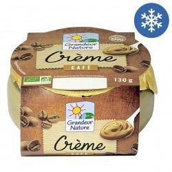 Photo Crème au café 130g bio Grandeur Nature