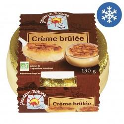 Photo Crème brûlée 130g bio Grandeur Nature