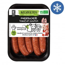 Photo Merguez x4 - 215g bio Kervern