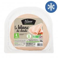 Photo Blanc de dinde tranché x4 - 160g bio Le Picoreur