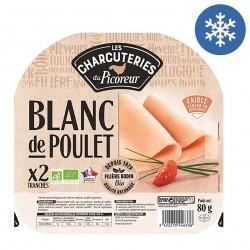 Photo Blanc de poulet tranché x2 - 80g bio Le Picoreur
