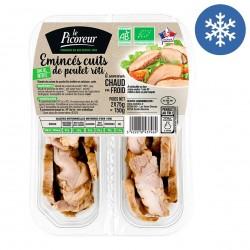 Photo Emincés cuits de poulet rôti 2x75g bio Le Picoreur