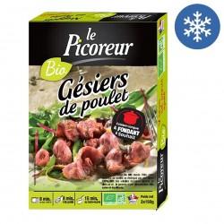 """Photo Gésiers de poulet """"cuisinés en confit"""" 300g bio Le Picoreur"""