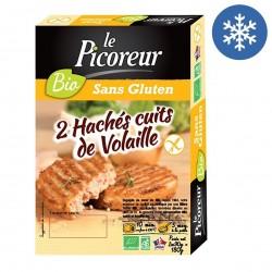 Photo Haché cuit de volaille 2x90g bio Le Picoreur