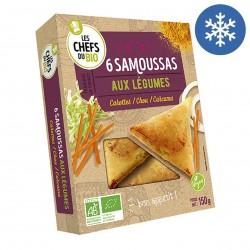 Photo Samoussas de légumes 160g bio Les P'tits Chefs du Bio