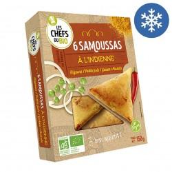 Photo Samoussas indiens 160g bio Les P'tits Chefs du Bio