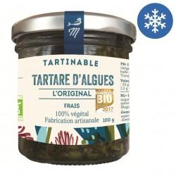 Photo Tartare l'Original 30% d'algues 100g bio Marinoë