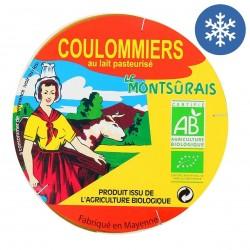Photo Coulommiers lait pasteurisé 350g bio Montsurs