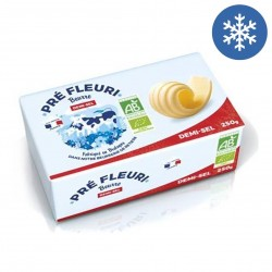 Photo Beurre demi-sel 250g bio Pré Fleuri