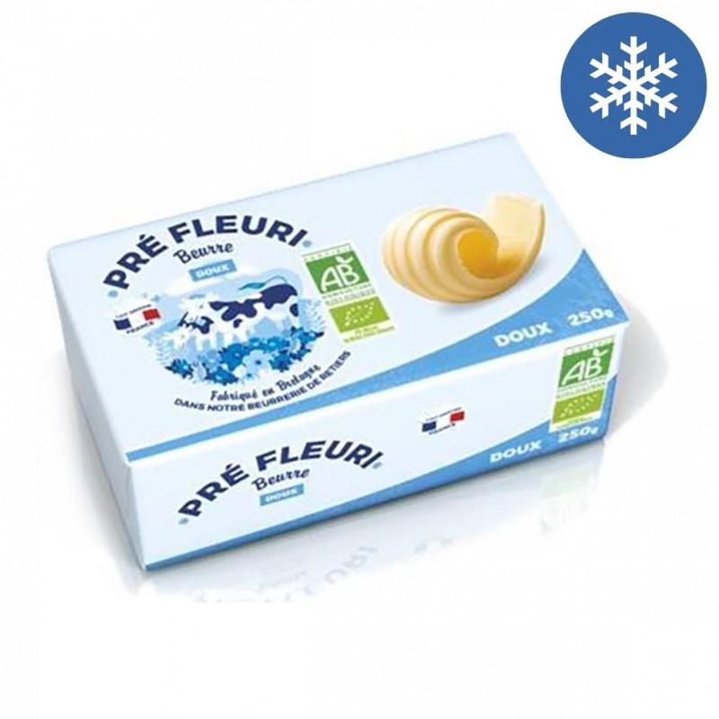 Photo Beurre doux 250g bio Pré Fleuri