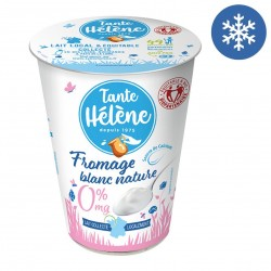 Photo Fromage blanc nature 0% MG 400g bio Tante Hélène