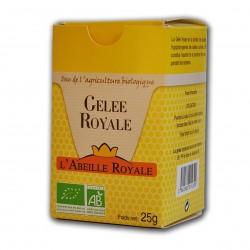 Photo Gelée royale 25g bio Abeille Royale